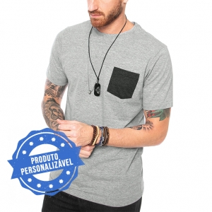 Camiseta Pocket Personalizável