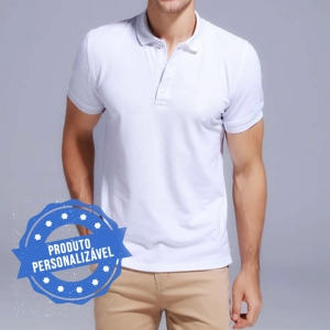 Camiseta Polo Personalizável